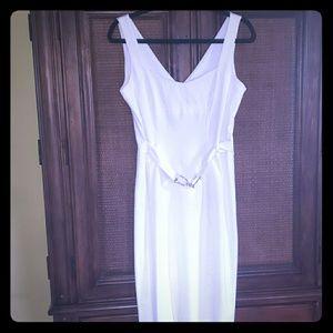 Cache White Dress Sz 8